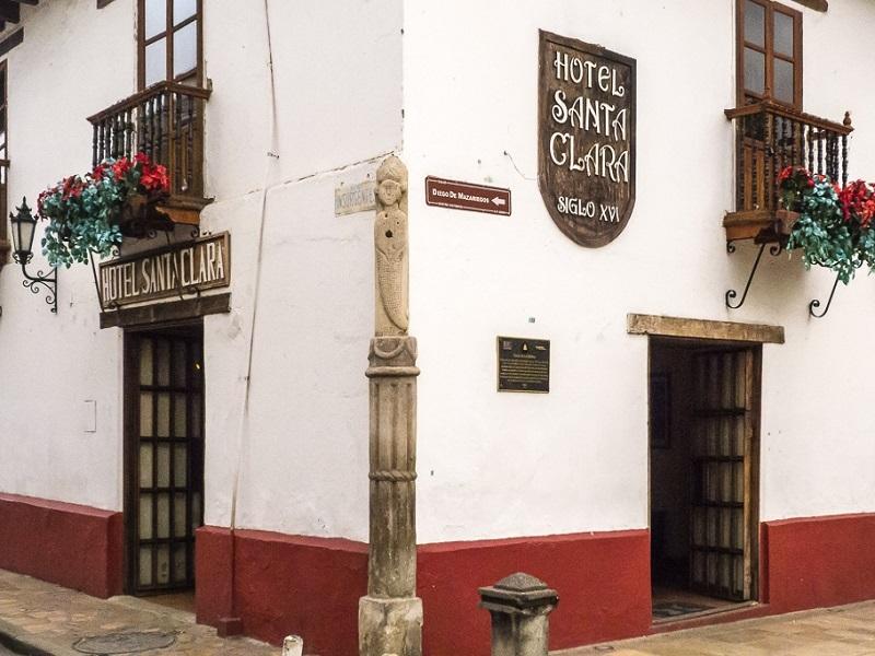 Image of Santa Clara Hotel in San Cristóbal de Las Casas.