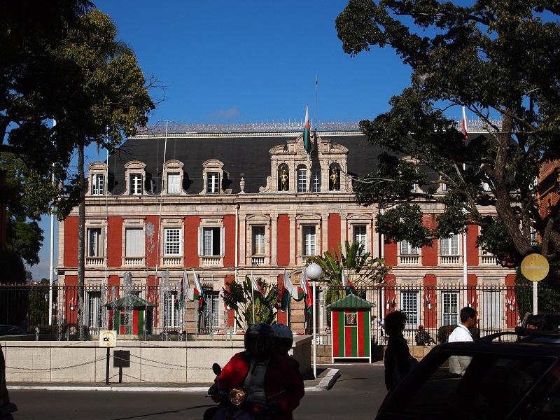 view on Presidental palace, Antananarivo