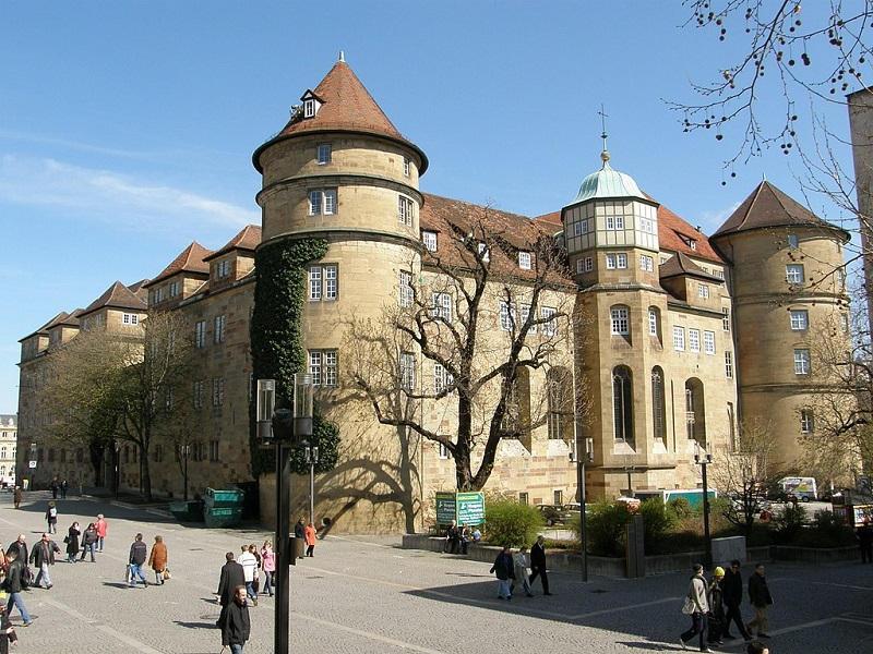 Image of the Old Castle in Stuttgart, Germany.