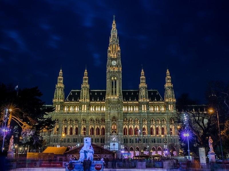 Town hall in Vienna, Austria